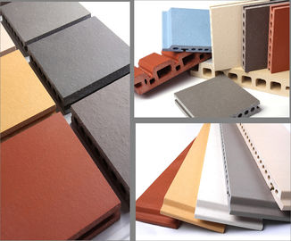 Thermal Insulated Exterior Wall Panels Flame Retardant Dengan Hollow Structures