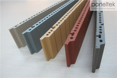 F18 Terracotta Panel Dinding Eksternal Keramik, Panel Dinding Luar Cladding
