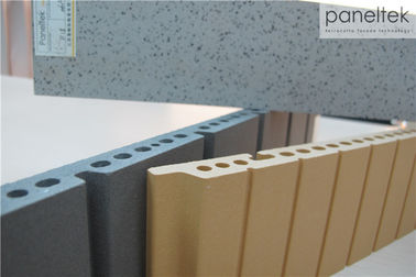 Membangun Panel Cladding Ringan / Kekuatan Tinggi Panel Wall Cladding Berinsulasi